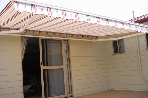 Folding Arm Folding Arm Awning Window Blinds - Windsor Blinds in Cardiff, NSW