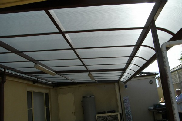 Patio Cover 2 (Bullnose) - Windsor Blinds in Cardiff, NSW
